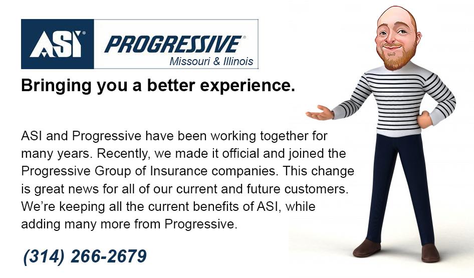 american strategic insurance asi progressive agent missouri illinois insurance broker
